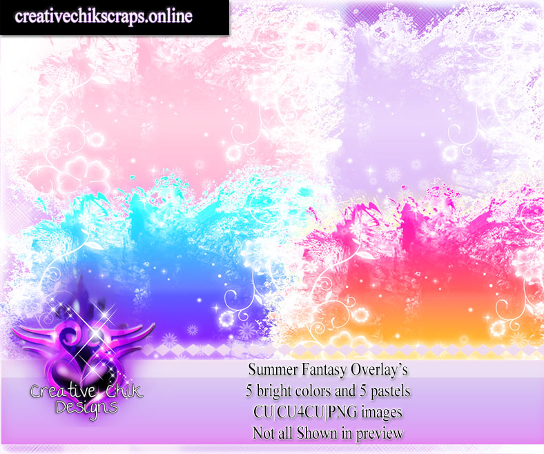 CCD-Summer Fantasy Overlays